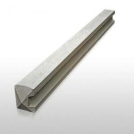 Slotted Concrete Post END